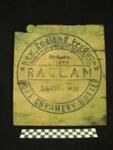 Raglan Butter Box, Raglan Co-Operative Dairy, c1920-1930, 1969.54.1