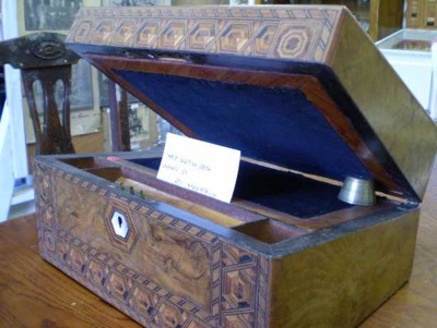 Reverand Wallis's writing desk.