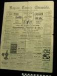 Raglan County Chronicle Newspaper; 1983.13.10b