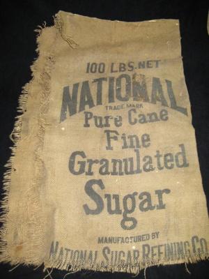 Sugar Sack; 1898; 1981.2.2