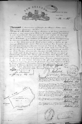 Land Title, 1876, 7042