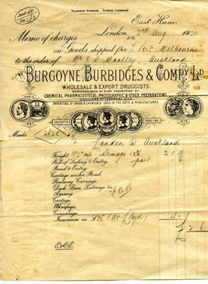 Invoice; 1929; 2016.6.16