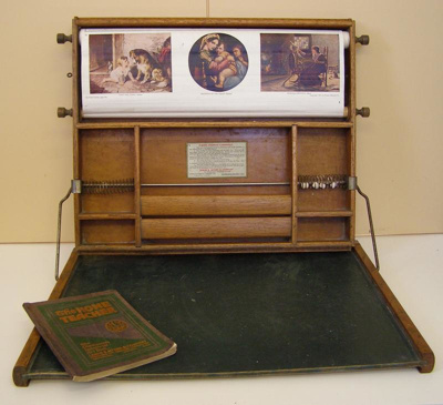 Chautauqua Art Desk, Lewis E. Meyers & Co.    Valparaiso U.S.A, c1913, 20