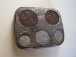 Coin Tin/Holder, 13