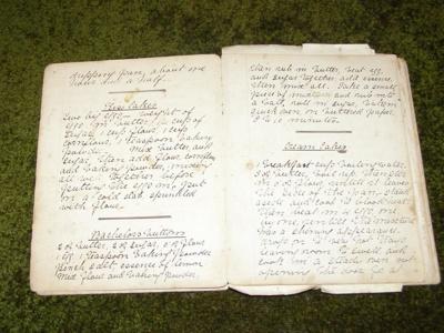 Recipe Book, 1905, 23