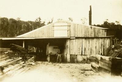 Photograph [Tyson & Wilson's Mill, Tawanui]; [?]; 1922-1934; CT85.1801e