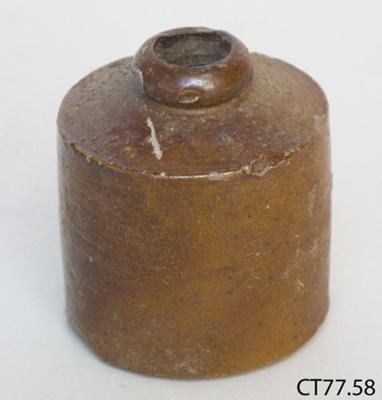 Bottle, ink; CT77.58