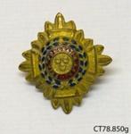Badge, military; [?]; [?]; CT78.850g
