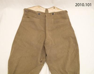 Uniform, military; [?]; early 20th century; 2010.101