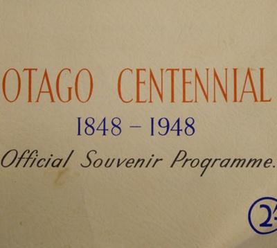 Books, Otago Centennial, 1848-1948; Otago Centennial Association (Inc); 1948; CT3093 d, e