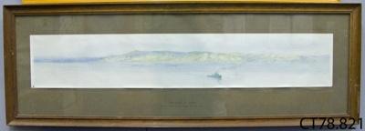 Print [The Coast of ANZAC]; Moore-Jones, Horace Millichamp (Sapper, NZEF; c1867-1922); [?]; CT78.821