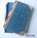 Minute book, Owaka Club and Owaka Memorial Hall Committee, Minute Book and Cash Book, 1910-1968; Owaka Memorial Hall Committee; 1910-1968; CT89.1898