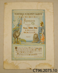 Certificate of appreciation [Robert Hay]; Owaka and District Patriotic Society; 1917; CT96.2075.10