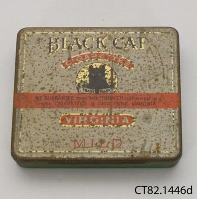 Tin, cigarette; Carreras Ltd; CT81.1446d