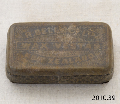 Matchbox; R Bell & Co; [?]; 2010.39