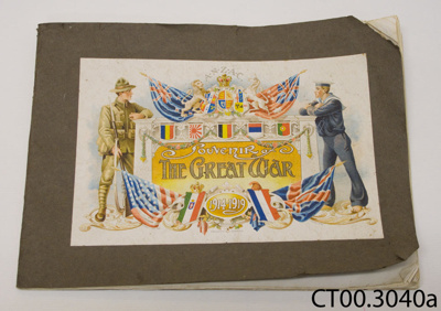 Booklet [Souvenir of the Great War]; Wilkie & Co Ltd; c1919; CT00.3040