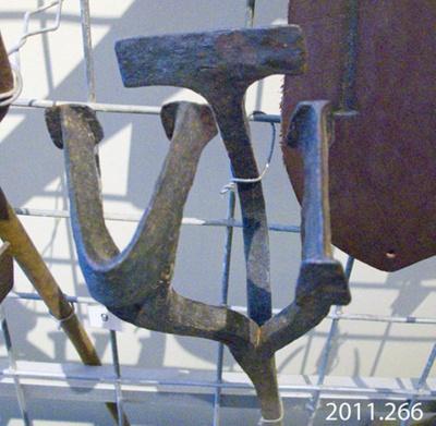 Iron, branding; [?]; [?]; 2011.266