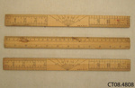 Rulers; [?]; early 20th century[?]; CT08.4808