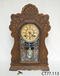 Clock, chiming; Ansonia Clock Co.; 1850-1929; CT77.113