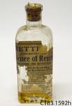 Bottle [Essence of Rennet]; [?]; [?]; CT83.1592h