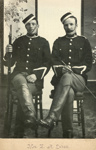 Photograph [Troopers C Bird and W McPhee]; Labatt, E A (Mrs); c1900; CT78.1006b