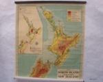 Maps; New Zealand North Island and South Island ; George Philip & Son Ltd; c.1950; 2013.8.11