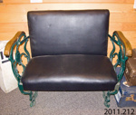 Seat, train; [?]; [?]; 2011.212