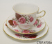 Teacup, saucer and side plate; Shore & Coggins Ltd (Queen Anne); c1945-1966; CT07.4735