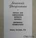 Programme, Souvenir, Owaka and Surrounding Districts Schools Centennial Celebrations, 1976; [?]; 1976; CT83.1127e