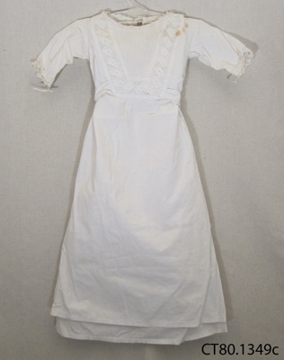 Gown, christening; [?]; Early 20th century; CT80.1349c