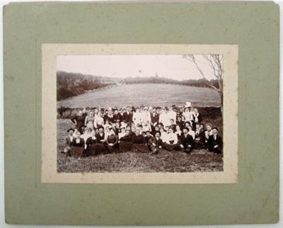 Photograph [Wedding party]; [?]; c1890s ?; 2010.799