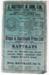 List, price [J Rattray & Son Ltd]; J Rattray & Son, Ltd.; 1939; 2009.9.2.10