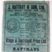 List, price [J Rattray & Son Ltd]; Coulls Somerville Wilkie, Ltd; 1939; 2009.9.2.10