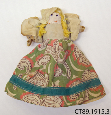 Doll, peg; [?]; c1900; CT89.1915.3