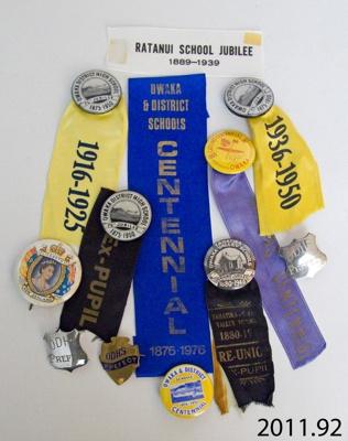 Badges, commemorative; 2011.92