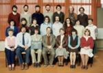 Photograph [Catlins Area School staff]; [?]; 1980; CT4583e