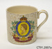 Cup, commemorative; Hollinshead & Kirkham (Ltd); c1953; CT91.2007a