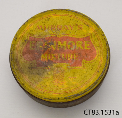 Tin, tobacco; Murray, Sons & Co (New Zealand) Ltd.; [?]; CT83.1531a