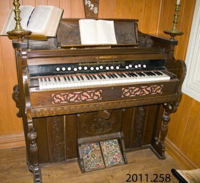 Organ; Cornish Company; 19th century; 2011.258
