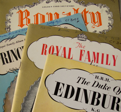 Magazine, The British Royal Family Pictorial Magazines; Pitkin Pictorials Ltd; 1948-1949; CT3092d-g