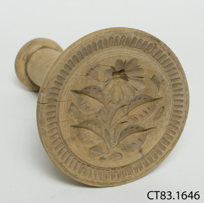 Stamp, butter; CT83.1646