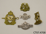 Badges, military; [?]; Early 20th century; CT07.4708