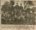 Newspaper clipping and original photo, The Ratanui Sports Committee, 1910.; The Evening Star; 1961; CT79.1036b