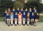 Photograph [Catlins Area School class]; [?]; c1980s; CT4583c
