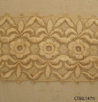 Fragment, lace; [?]; [?]; CT83.1471i