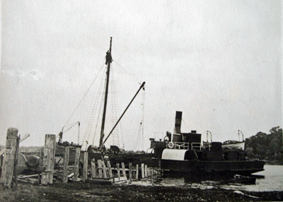 """Photograph [The SS """"Kotare""""]; [?]; Early 1900s; 2010.806"""