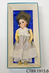 Doll, porcelain; [?]; 19th century; CT89.1915.6
