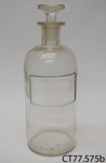 Bottle, medicine; [?]; [?]; CT77.575b