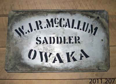 Stencil; McCallum, W J R; [?]; CT01.4003.4