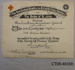 Certificate, Red Cross Award to Mrs Dehlia Slater, 1919.; The Red Cross; 1919; CT08.4836h